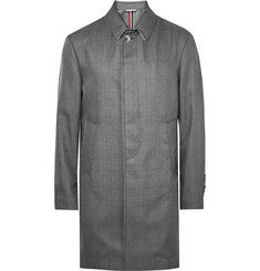 Thom Browne - Prince of Wales Checked Water-Resistant Shell Overcoat