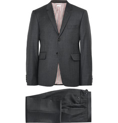 Thom Browne Charcoal Wool Suit