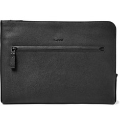 Lanvin Grained-Leather Pouch