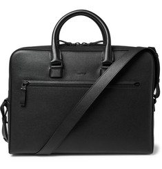 Lanvin Grained-Leather Briefcase