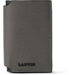 Lanvin Bifold Full-Grain Leather Wallet