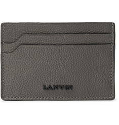 Lanvin Full-Grain Leather Cardholder