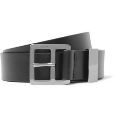 Lanvin - 3cm Black Leather Belt