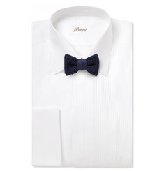 Lanvin Pre-Tied Knitted Silk Bow Tie