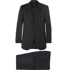 Canali - Charcoal Slim-Fit Wool Suit