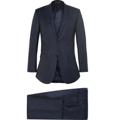 Canali - Navy Slim-Fit Super 130s Wool Suit