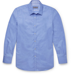Canali - Slim-Fit Cotton Shirt