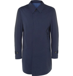 Canali Reversible Wool-Twill Raincoat
