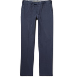 Canali - Slim-Fit Cotton-Blend Twill Chinos