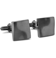 Lanvin Ruthenium-Plated Cufflinks