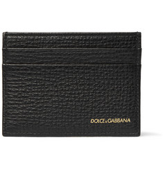 Dolce & Gabbana - Grained-Leather Cardholder