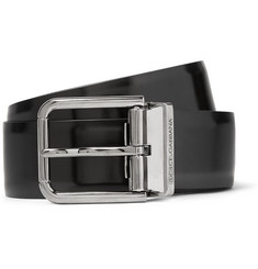 Dolce & Gabbana 5cm Black Leather Belt