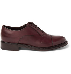 Brioni Sartorial Leather Oxford Shoes