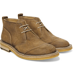 Belstaff - Warren Burnished-Suede Desert Boots