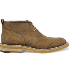 Belstaff Warren Burnished-Suede Desert Boots