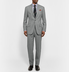 Richard James Grey Hyde Mélange Wool Suit Jacket