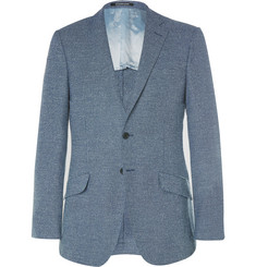 Richard James Blue Seishin Slim-Fit Wool-Blend Blazer