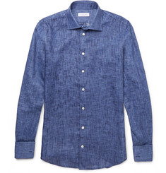 Richard James - Slim-Fit Linen Shirt