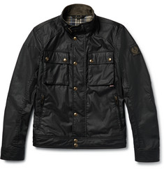 Belstaff Racemaster Waxed-Cotton Biker Jacker