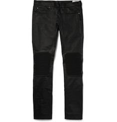 Belstaff - Blackrod Coated Stretch-Denim Biker Jeans