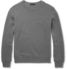 Belstaff Slim-Fit Chanton Panelled Cotton-Jersey Sweatshirt