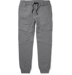 Belstaff - Farlane Tapered Panelled Cotton-Jersey Sweatpants
