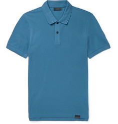 Belstaff Pearce Slim-Fit Cotton-Piqué Polo Shirt