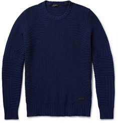 Belstaff - Lincefield Ribbed Virgin Wool and Cashmere-Blend Sweater