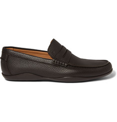 Harrys of London Basel 4 Grained-Leather Penny Loafers