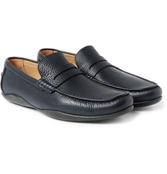 Harrys of London - Basel 4 Grained-Leather Penny Loafers