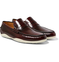 Harrys of London - Basel 4 Glossed-Leather Penny Loafers