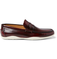 Harrys of London Basel 4 Glossed-Leather Penny Loafers