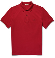Burberry Brit - Slim-Fit Cotton-Piqué Polo Shirt