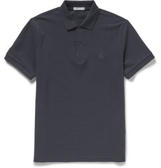 Burberry Brit Slim-Fit Cotton-Piqué Polo Shirt