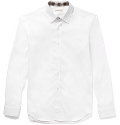 Burberry Brit Slim-Fit Cotton-Poplin Shirt