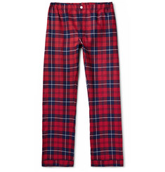 Sleepy Jones - Marcel Checked Cotton-Flannel Pyjama Trousers