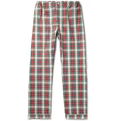 Sleepy Jones - Marcel Checked Cotton Pyjama Trousers