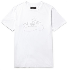 Rag & bone - Printed Cotton-Jersey T-Shirt