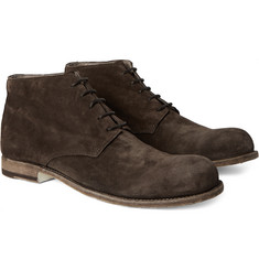 Officine Creative - Bubble Suede Chukka Boots