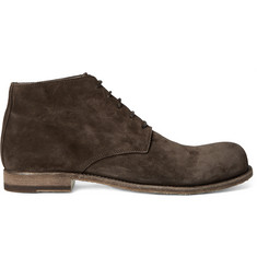 Officine Creative Bubble Suede Chukka Boots