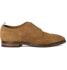 Officine Creative Princeton Suede Wingtip Brogues