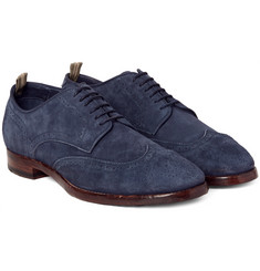 Officine Creative - Princeton Suede Wingtip Brogues