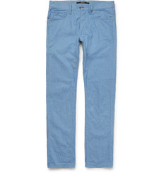 Incotex - Slim-Fit Washed-Denim Jeans