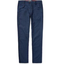 Incotex Slim-Fit Slub Cotton Trousers