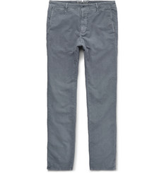 Incotex - Slim-Fit Brushed Stretch-Cotton Twill Chinos