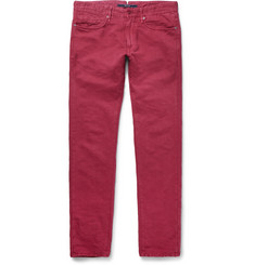 Incotex Slim-Fit Linen and Cotton-Blend Chinos