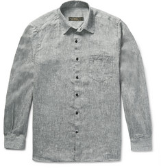 Freemans Sporting Club Slub Linen Shirt