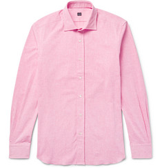 MP Massimo Piombo Cotton-Chambray Shirt