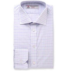 Turnbull & Asser Slim-Fit Checked Cotton Shirt