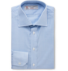 Turnbull & Asser Slim-Fit Bengal-Striped Cotton Shirt
